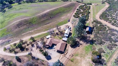 Paso Robles Single Family Home For Sale: 1865 Nacimiento Lake Drive
