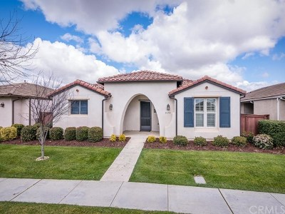 Paso Robles Single Family Home For Sale: 2658 Benicia Lane