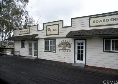 San Luis Obispo County Commercial For Sale: 801 Oak Shores Drive