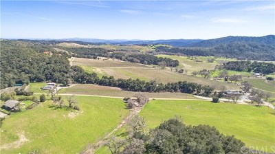 Santa Margarita, Templeton, Atascadero, Paso Robles Single Family Home For Sale: 1221 Jensen Road