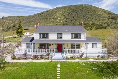 San Luis Obispo County Single Family Home For Sale: 160 Carrisa Highway