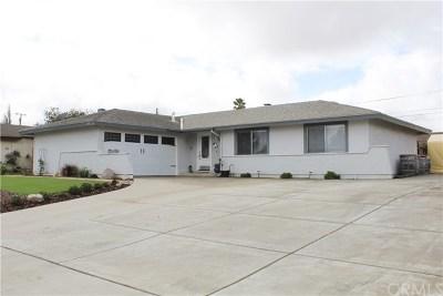 Santa Maria Single Family Home Active Under Contract: 4121 Shady Glade Drive