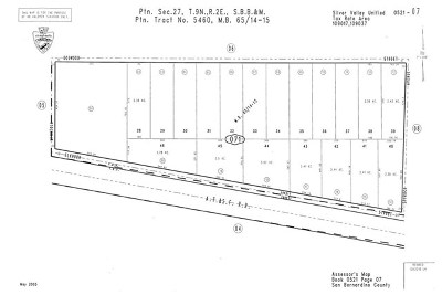 Newberry Springs Residential Lots & Land For Sale: Deleted