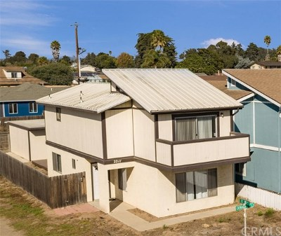 Pismo Beach, Arroyo Grande, Grover Beach, Oceano Single Family Home For Sale: 2211 Cienaga Street