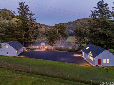 San Luis Obispo County Single Family Home For Sale: 11610 Santa Rosa Creek Road