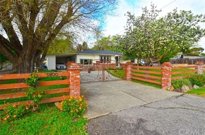 Atascadero Single Family Home For Sale: 5800 Portola Road