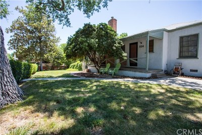 Paso Robles Single Family Home For Sale: 526 Beverly Avenue