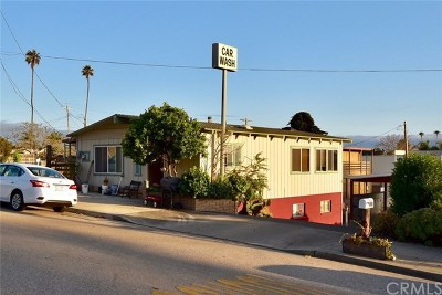 Cayucos Commercial For Sale: 273 Birch Avenue