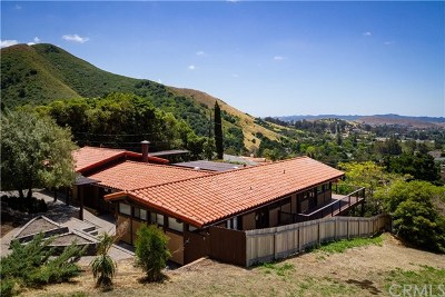 San Luis Obispo Single Family Home For Sale: 1 Buena Vista Avenue