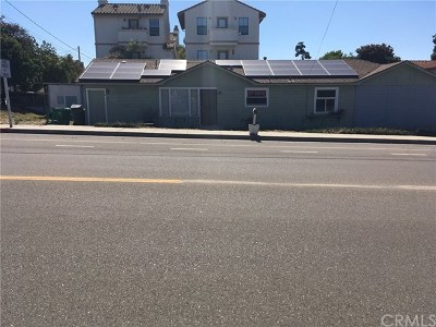 Pismo Beach, Arroyo Grande, Grover Beach, Oceano Multi Family Home For Sale: 172 N 13th Street