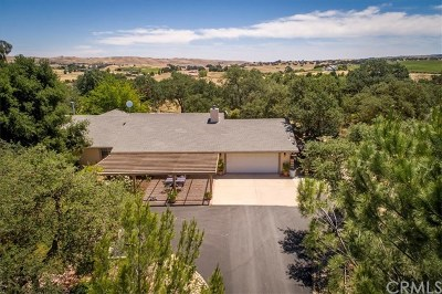 Paso Robles Single Family Home For Sale: 5679 Loma Verde Drive