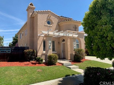 Santa Maria Single Family Home For Sale: 1751 Alcala Drive