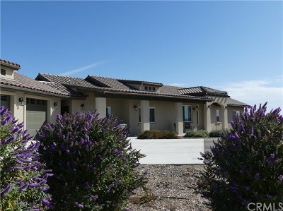 San Luis Obispo County Single Family Home For Sale: 3815 Gruenhagen Flat Road