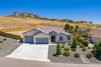 Paso Robles CA Single Family Home For Sale: $649,900