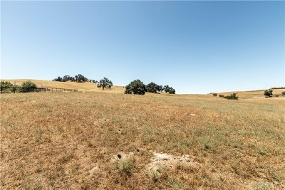 Paso Robles Residential Lots & Land For Sale: 9999 Bluegill Drive