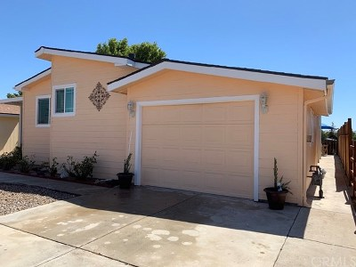 Templeton Mobile Home For Sale: 1220 Bennett Way