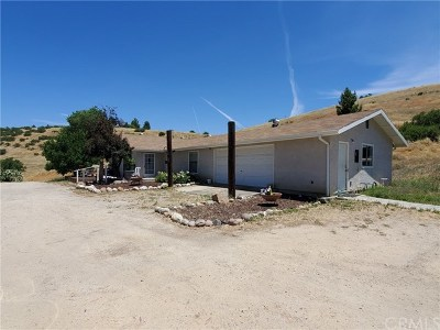 San Miguel Single Family Home For Sale: 6329 Hog Canyon Road