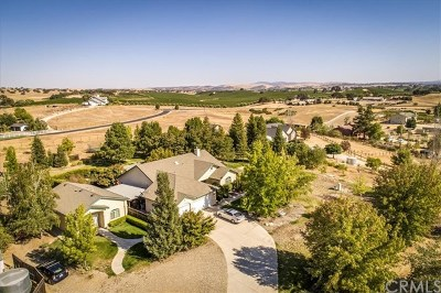 Santa Margarita, Templeton, Atascadero, Paso Robles Single Family Home For Sale: 5696 Loma Real
