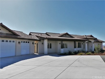 Paso Robles Single Family Home For Sale: 3810 Gruenhagen Flat Road
