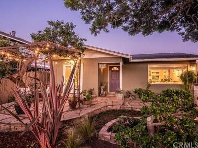 Single Family Home For Sale: 125 Palomar Avenue