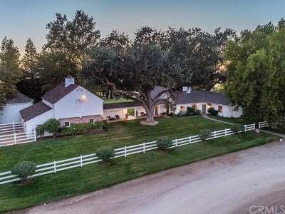 San Luis Obispo County Single Family Home For Sale: 4385 La Panza Road