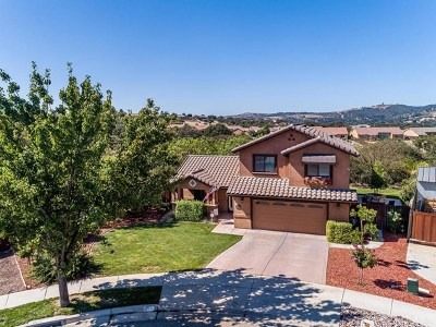 Paso Robles CA Single Family Home For Sale: $729,900