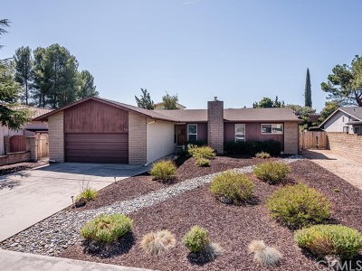 Paso Robles Single Family Home For Sale: 826 Red Cloud Road