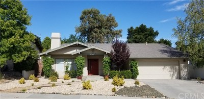Paso Robles CA Single Family Home For Sale: $532,500