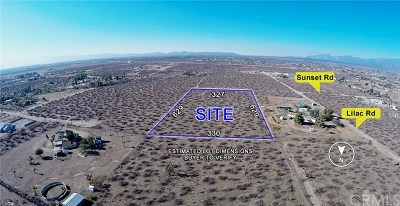 Victorville Residential Lots & Land For Sale: Sunset Road