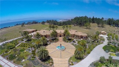 Cambria CA Single Family Home For Sale: $55,000,000