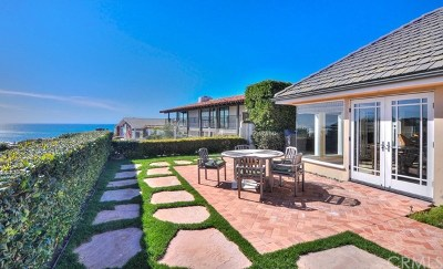 Dana Point Single Family Home For Sale: 6 Monarch Bay Drive