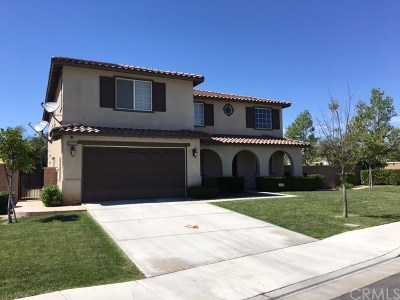 Corona Single Family Home For Sale: 14212 Rolling Stream Place