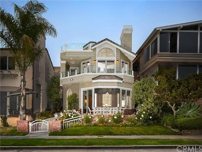 Corona Del Mar South Of Pch (Cdms) Single Family Home For Sale: 2508 Ocean Boulevard
