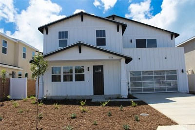Costa Mesa Single Family Home For Sale: 155 Flower Street #Unit B