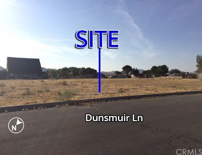 Helendale Residential Lots & Land For Sale: Dunsmuir Lane
