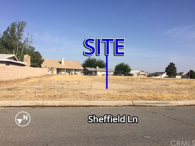 Helendale Residential Lots & Land For Sale: Sheffield Lane