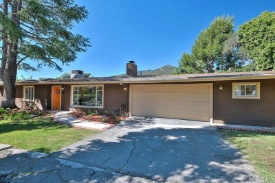 La Crescenta Single Family Home For Sale: 6224 Hamilton Lane