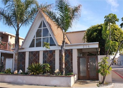 Newport Beach Single Family Home For Sale: 214 Colton Street