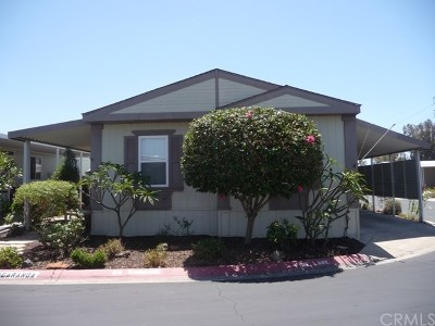 Irvine Mobile Home Active Under Contract: 14851 Jeffrey Road