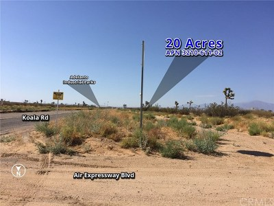 Adelanto Residential Lots & Land For Sale: Koala Road
