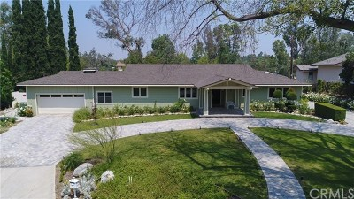 Fullerton Single Family Home For Sale: 1111 Glen View Drive