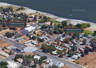 Lake Elsinore Multi Family Home For Sale: 32986 Blackwell