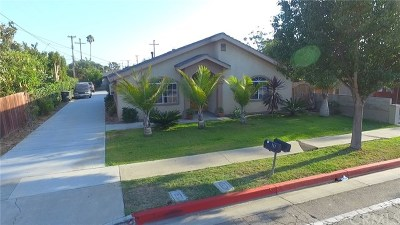 Costa Mesa Multi Family Home Active Under Contract: 713 W Wilson Street