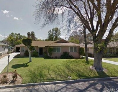 Riverside CA Single Family Home For Sale: $339,000