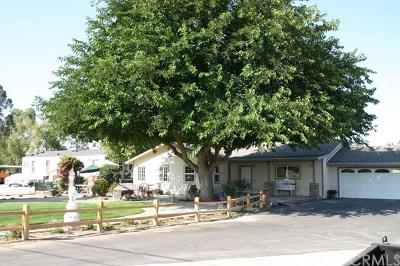 Paso Robles Single Family Home For Sale: 8501 Creston Road