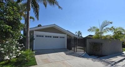 Costa Mesa Single Family Home For Sale: 1663 New Hampshire Drive