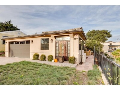 Pismo Beach Single Family Home For Sale: 850 Taft Street