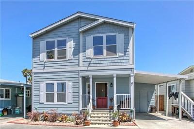 Newport Beach Mobile Home For Sale: 329 Mayflower Dr.