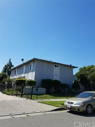 Santa Ana Multi Family Home Active Under Contract: 1226 E Madison Avenue