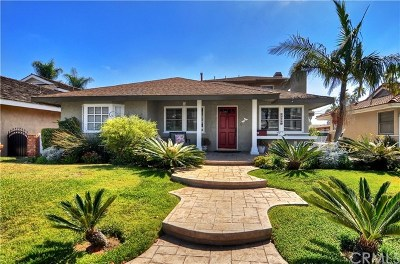 Single Family Home For Sale: 1710 Park Street